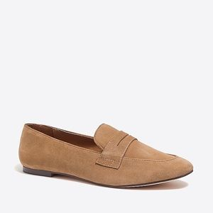 J Crew Suede Penny Loafer